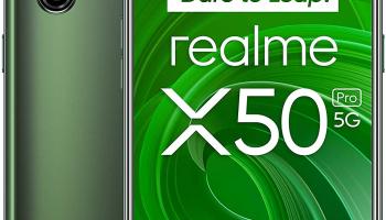 5G-Smartphone Realme X50 Pro 12/256GB (beide Farben) zum neuen Bestpreis bei amazon.es!