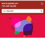 15% auf alles bei Zalando in der App