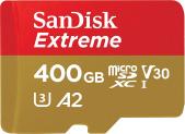 SanDisk Extreme 400GB microSDXC zum neuen Bestpreis