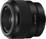 Sony SEL 50-F18F Objektiv z.B. für E-Mount-Modelle bei Amazon