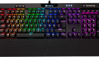 CORSAIR K70 RGB MK.2 Rapidfire, Cherry MX Speed mit QWERTZ-Layout bei Amazon