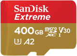 SanDisk Extreme 400GB micro SDXC Karte (Amazon Deutschland)