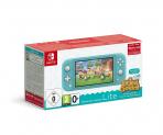 Nintendo switch Lite Türkis Animal Crossing Bundle bei amazon.fr zum neuen Bestpreis