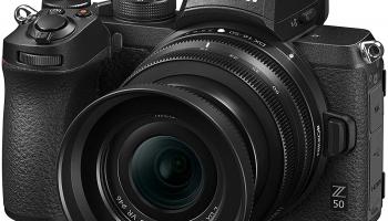 Nikon Z50 Kit (inkl. Z DX 16-50mm F/3.5-6.3 VR) – Bestpreis!
