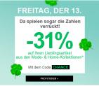 31% auf den teuersten Artikel aus den Mode- und Home-Kollektionen bei La Redoute, z.B. Jonak Lederboots für CHF 109.71 statt CHF 159.-