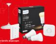 15% auf das gesamte Philips Hue Sortiment bei Interdiscount, z.B. Philips Hue White Doppelpack E27 für CHF 29.70 statt CHF 34.95