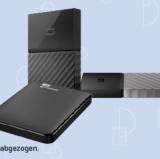20% auf alle Festplatten von Western Digital bei Interdiscount, z.B. WESTERN DIGITAL – Portable HDD My Passport Ultra 4 TB für CHF 159.90 statt CHF 199.90