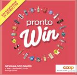 Coop Pronto Gewinnspiel – Gratis Produkte