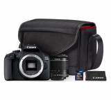 CANON EOS 2000D Kit, EF-S 18-55mm IS II + SB-130 Schultertasche + 16GB SD Card