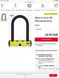 Abus Mini U Schloss bei Ochsner Sport