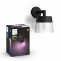 [microspot] PHILIPS HUE Aussen-Wandleuchte Attract Color Ambiance