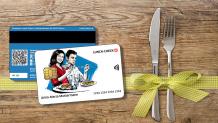 10% Rabatt auf Lunch Check Karten