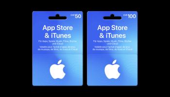Interdiscount: 15% Zusatzwert auf Geschenkkarten für Apple App Store & iTunes