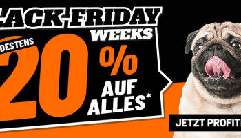 Black Friday Weeks bei LIPO – 20% Rabatt + gratis Versand (ohne Direktversand, Spedition)