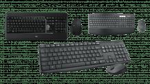 Tastatur und Maus Sets von Logitech bei microspot in Aktion