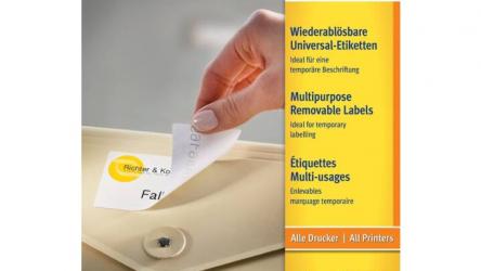 SIMPLEX Avery Zweckform L473REV-25 Universal-Etiketten