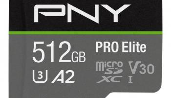 PNY MicroSDXC Pro Elite 512 GB