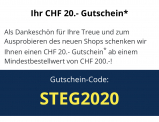 20.- Rabatt bei STEG / 200.- MBW