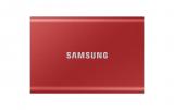 Samsung Portable SSD T7 1TB in Rot bei Interdiscount