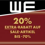WE SALE bis zu -70% | Jetzt mit 20% EXTRA-Rabatt!