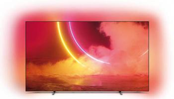 Philips 65OLED805 Ambilight-OLED-Fernseher mit Android TV bei MediaMarkt zum neuen Bestpreis