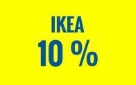 IKEA: 10% Rabatt ab MBW CHF 250.- am 1. August