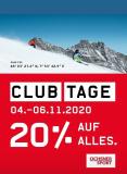 Clubtage bei Ochsner Sport 20% auf alles