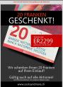 socksandmore: CHF 20.- Rabatt ab MBW CHF 50.-
