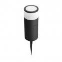 PHILIPS HUE Wegleuchte Calla (LED, 8 W, Schwarz) bei microspot