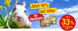 Qualipet: Bis zu 33% auf ausgewähltes + 10% Zusatzrabatt auf das gesamte Nagersortiment + gratis Goodie ab MBW CHF 25.-