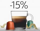 15% Rabatt auf Kaffeebestellungen bei Nespresso