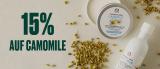 15% auf Kamillen Linie von The Body Shop