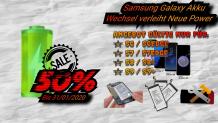 Samsung Galaxy Akku Austausch mit 50% Rabatt bei ITEK in Winterthur und Zürich