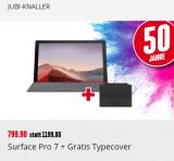 Surface Pro 7 mit TypeCover bei Interdicount
