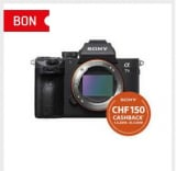 SONY Alpha 7 III Body Black bei Interdiscount für 1699.- CHF (inkl. Cashback)