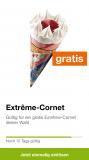Extreme-Cornet gratis über migrolino App