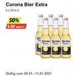 Bier Aktionen bei Denner Corona 23% Feldschlösschen unter 2 CHF pro L (37%)