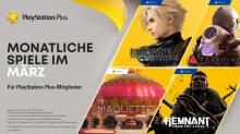 NEUE PLAYSTATION PLUS SPIELE IM MÄRZ: Final Fantasy VII Remake, Maquette (PS5), Remnant, Farpoint