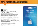 15% Bonus auf App Store & iTunes Geschenkkarten (ab CHF 50) bei melectronics