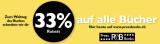 33% Rabatt auf alle Bücher bei Press & Books: Tag das Buches