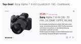 10% Sony Foto-Produkte – bis und mit 27.5.