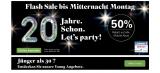 Salt Geburtstag: 50% auf alle Abos & SIM Karte geschenkt bei Handy-Abovergleich