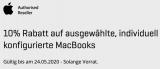 10% auf Macbooks bei Interdiscount