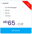 [lokal] 1. August Massage Angebot von Zurich-Thai-Massage