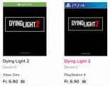 Preisfehler? Dying Light 2 PS4 & Xbox One für je 6,90.-