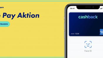 CHF 100.- geschenkt mit Apple Pay-Aktion der Cashback Cards (Swisscard AMEX & Mastercard oder AMEX & Visa) – bis 5% Cashback in den ersten 3 Monaten