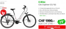 E-Bike Cilo Cityliner CCL bei DayDeal (nur heute)