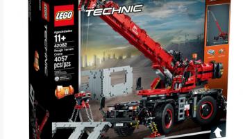 Lego 42082 Geländegängiger Kranwagen zum Bestpreis bei mElectronics