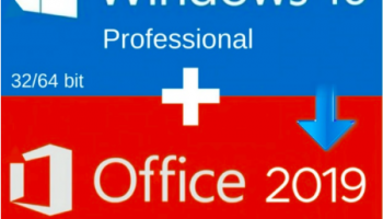 Windows 10 Professional + Office 2019 Pro Plus 2019