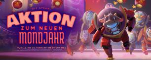 Steam Aktion zum neuen Mondjahr